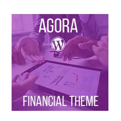Agora - Financial WordPress Theme