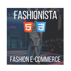 Fashionista - HTML Ecommerce Fashion Theme