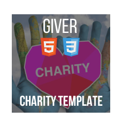 Giver - HTML Donation Template