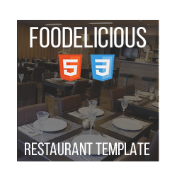 Foodelicious - HTML Bar Restaurant Template